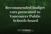 Recommended budget cuts presented to Vancouver Public Schools board