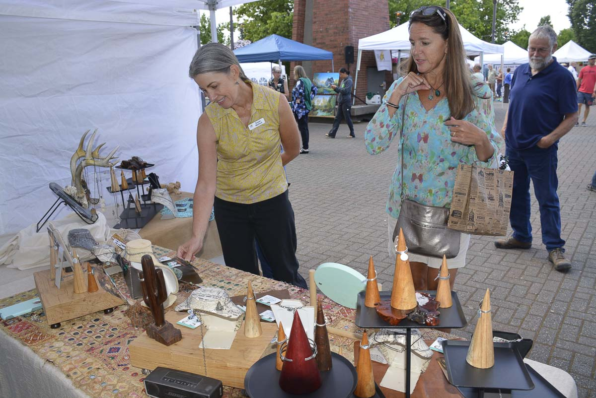 The 2019 Washougal Art Festival will be held on Sat., Aug. 10 at Reflection Plaza in downtown Washougal. Photo courtesy of Katy Fenley Bellavara Studio