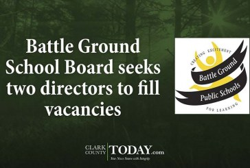 Battle Ground School Board seeks two directors to fill vacancies