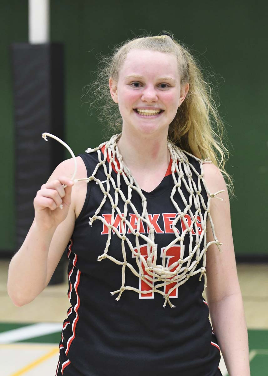 Camas senior Haley Hanson was named the girls basketball Player of the Year for the Class 4A Greater St. Helens League. Photo courtesy Kris Cavin