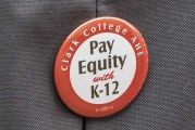 Clark College faculty pushing for raises similar to K-12 educators