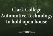 Clark College Automotive Technology to hold open house