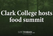 Clark College hosts food summit