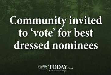 Community invited to 'vote' for best dressed nominees