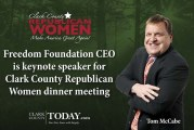 Freedom Foundation CEO is keynote speaker for Clark County Republican Women dinner meeting