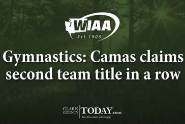 Gymnastics: Camas claims second team title in a row