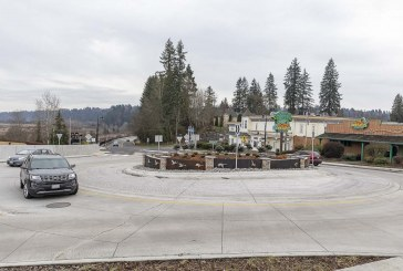 The 4th Street and Pacific Highway Roundabout in La Center completed