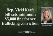 Rep. Vicki Kraft bill sets minimum $5,000 fine for sex trafficking conviction