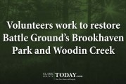 Volunteers work to restore Battle Ground's Brookhaven Park and Woodin Creek