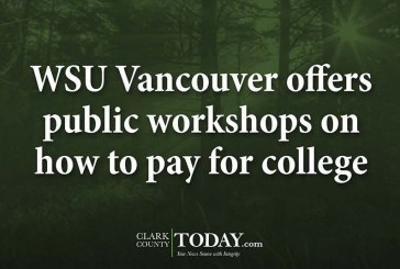 WSU Vancouver offers public workshops on how to pay for college