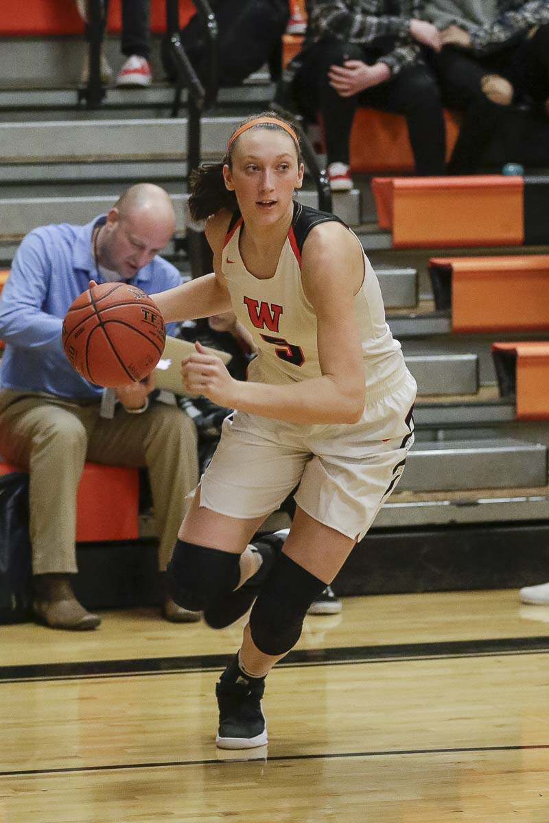 Beyonce Bea, the best player in Washougal history, has led the Panthers to state for the fourth consecutive season. Photo by Mike Schultz