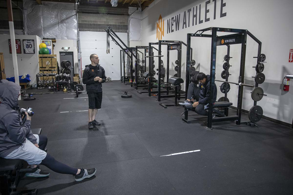 The nearly 13,000-square-foot facility that is New Athlete, is just the beginning, says Ryan Paul. A future facility could be close to three times as big. Photo by Jacob Granneman
