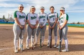 HS softball: Woodland brings the bats, too