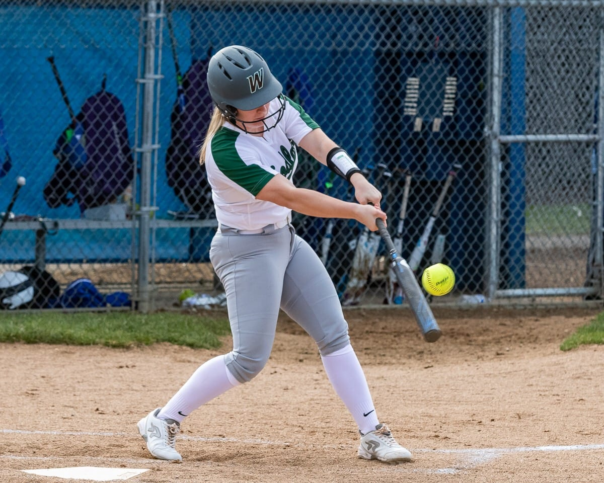 Kelly Sweyer and the Woodland Beavers averaged more than eight runs per game at the state tournament last season. Photo by Mike Schultz