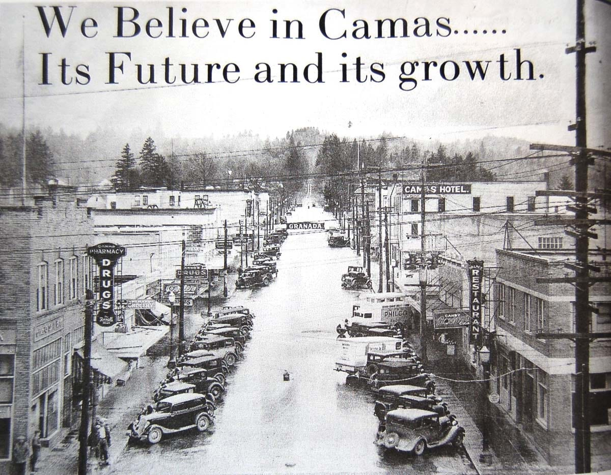 "A family friendly celebration of Camas history and the coming of Spring is coming to the Downtown Camas First Friday on April 5. The theme is ""Spring into History"" and showcases Camas history in fun and engaging ways. Photo courtesy of Downtown Camas Association"