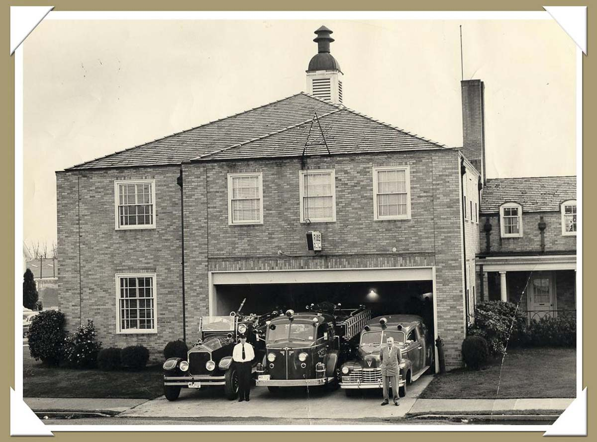 The old fire station in city hall is shown in this photo of Camas. Photo courtesy of Downtown Camas Association