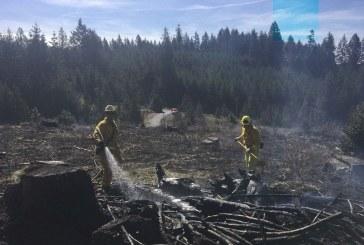 Fire District 3 crews respond to wildland fires