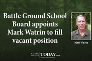 Battle Ground School Board appoints Mark Watrin to fill vacant position