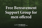 Free Bereavement Support Group for men offered