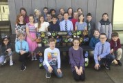 Friendship Bench installed at South Ridge Elementary School
