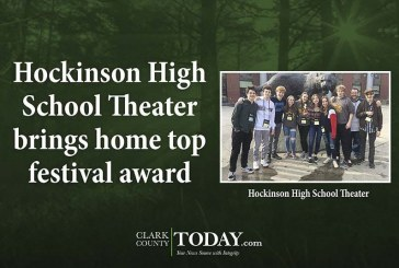 Hockinson High School Theater brings home top festival award