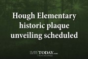 Hough Elementary historic plaque unveiling scheduled