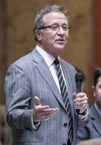 A bill sponsored by Rep. Larry Hoff to create a short form death certificate in Washington state has been unanimously approved by the state House of Representatives. Photo courtesy of Washington State House Republican Communications