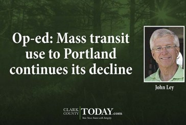 Op-ed: Mass transit use to Portland continues its decline