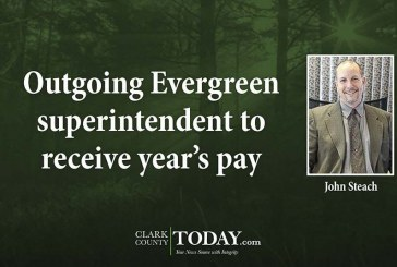 Outgoing Evergreen superintendent to receive year's pay