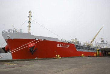 Port of Vancouver welcomes M/V Gallop on its maiden voyage