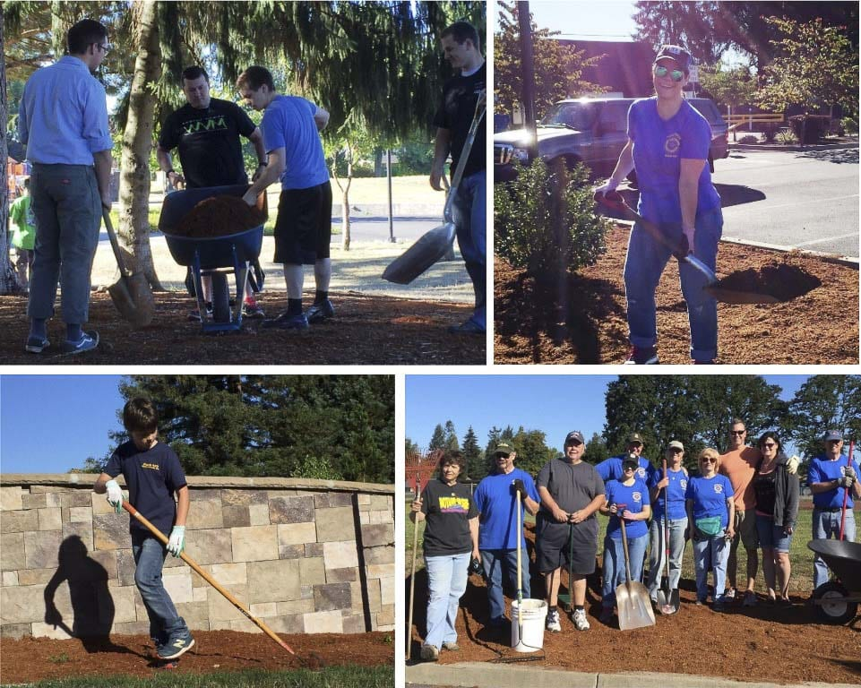 Battle Ground Parks and Recreation is celebrating National Volunteer Month by hosting a Park Appreciation Day work party at two local parks on Sat., April 20. Photos courtesy of city of Battle Ground