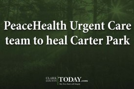 PeaceHealth Urgent Care team to heal Carter Park