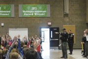 Police Activities League visits South Ridge Elementary School