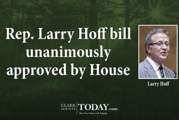 Rep. Larry Hoff bill unanimously approved by House