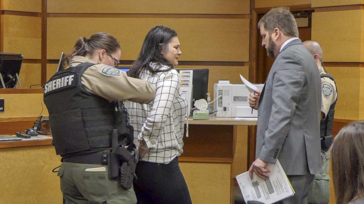 Kalama woman sentenced in Moulton Falls Bridge pushing