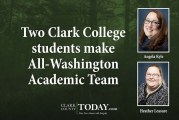 Two Clark College students make All-Washington Academic Team