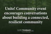 Unite! Community event encourages conversations about building a connected, resilient community