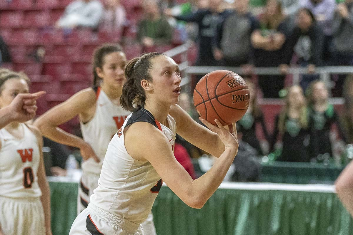 Washougal's Beyonce Bea is on the roster for the Les Schwab Tires Roundball Shootout on Sunday. Photo by Mike Schultz