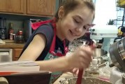 Woodland Middle School student and aspiring baker donates more than $600 in cookie sales