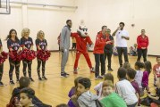 Nautilus Inc., Trail Blazers team up with the Boys & Girls Club of Southwest Washington to surprise area youth