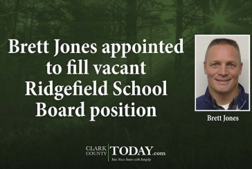 Brett Jones appointed to fill vacant Ridgefield School Board position