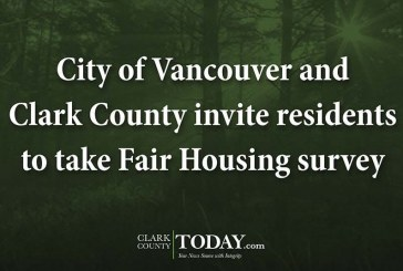 City of Vancouver and Clark County invite residents to take Fair Housing survey