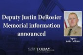 Deputy Justin DeRosier Memorial information announced