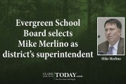 Evergreen School Board selects Mike Merlino as district's superintendent
