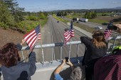 Fallen Cowlitz County deputy honored Wednesday