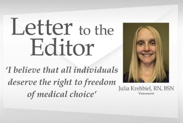 Letter to the editor: 'I believe that all individuals deserve the right to freedom of medical choice'