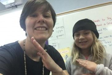 Library ninjas at Union Ridge Elementary School