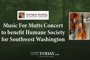 Music For Mutts Concert to benefit Humane Society for Southwest Washington