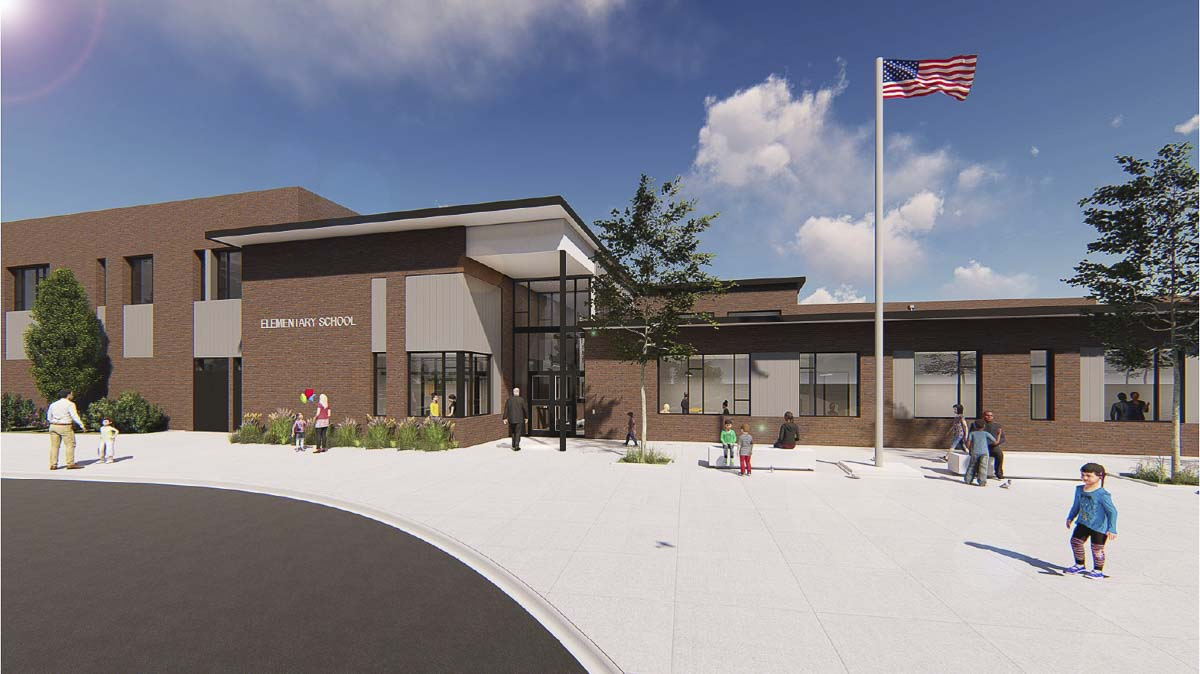 Sixty years ago, the Sifton neighborhood celebrated the opening of a new school for its students. On April 24, the neighborhood will have a new reason to celebrate, as Evergreen Public Schools breaks ground on a new school building on the same site. Photo courtesy of Evergreen School District