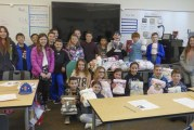 Ridgefield 5th graders pay kindness forward with baby blanket drive